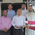Gujarat United Christian Forum met the GSSTB executive president, Nitin Pethani