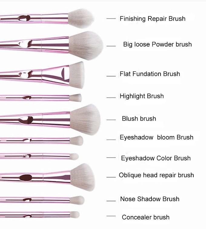 MB02 Special Designed Popular Eyebrow Eyeshadow Makeup Brushes Set Easy Hold Brush