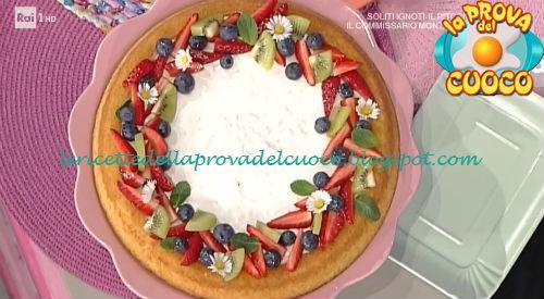 Crostata morbida con frutta fresca ricetta Cattelani da Prova del Cuoco