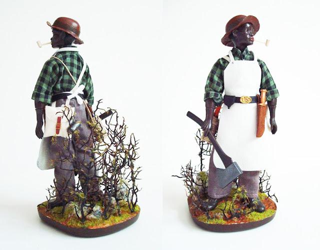 Madelman Zapador liberto del ejército de Sherman Custom