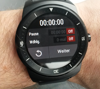 Interval Timer – Android Wear