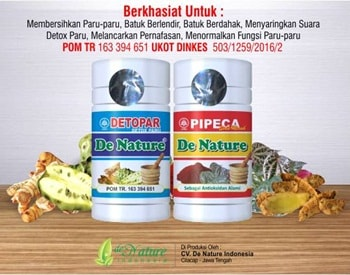 Obat Tuberkulosis (TBC) Herbal de Nature