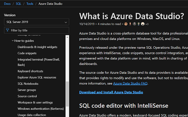 Azure Data Studio How to guides
