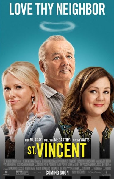 Poster Of St. Vincent 2014 720p UnCut Hindi BRRip Dual Audio Full Movie Download