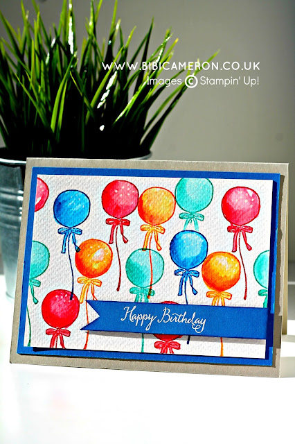 "<img src=""image.jpg"" alt=""Balloon card"" title=""Honeycomb happiness Stamp set Stampin Up""/>"