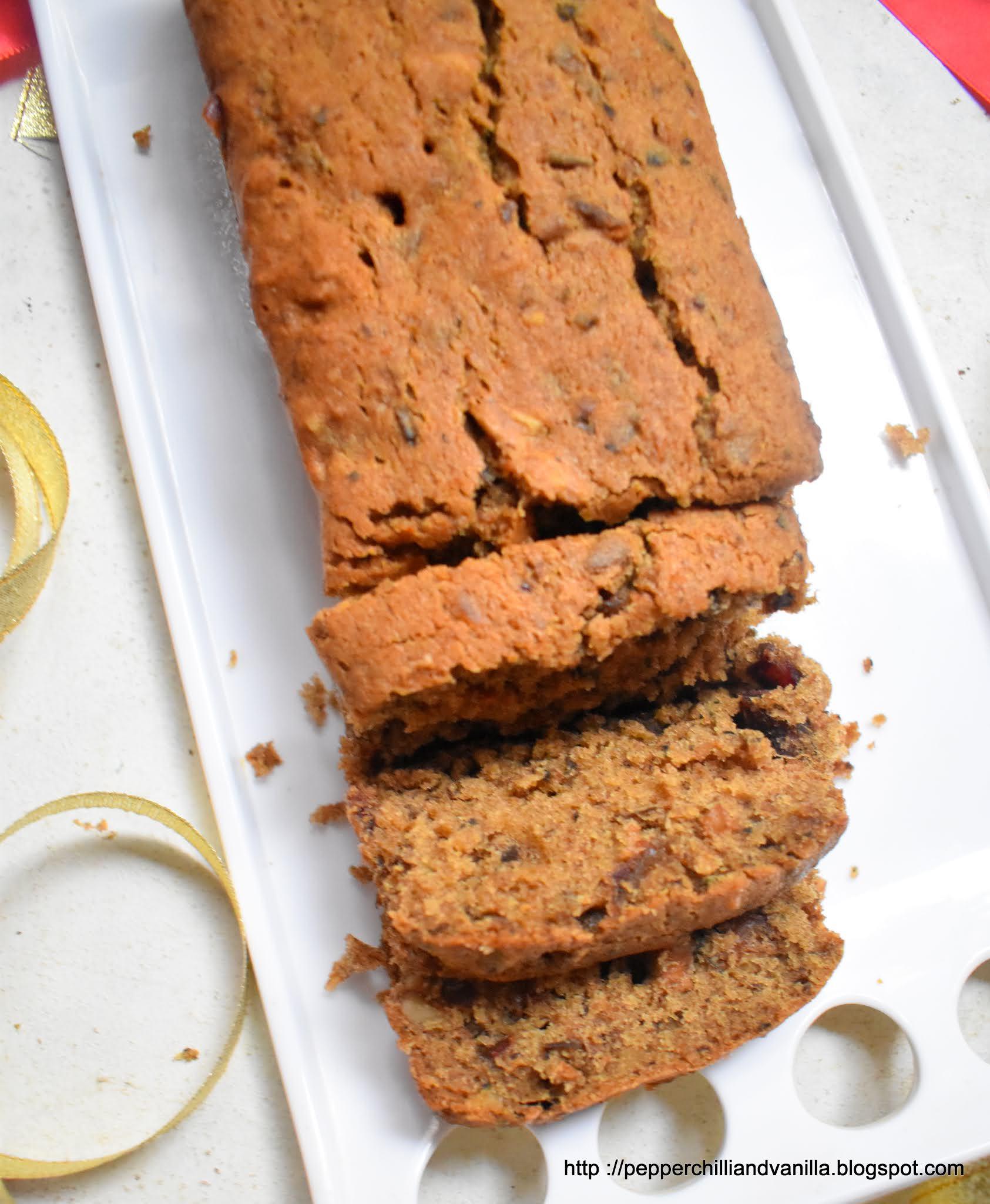 date walnut loaf cake recipe