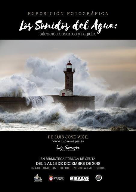 Exposición 'Los Sonidos del Agua' de Luis José Vigil