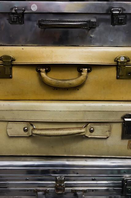 vintage suitcases: Photo by Rene Böhmer on Unsplash