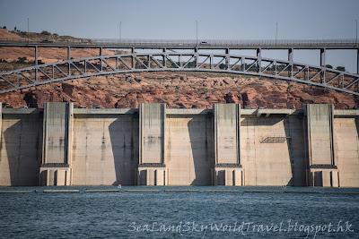 格蘭峽谷水壩, Glen Canyon Dam, 包偉湖, Lake Powell