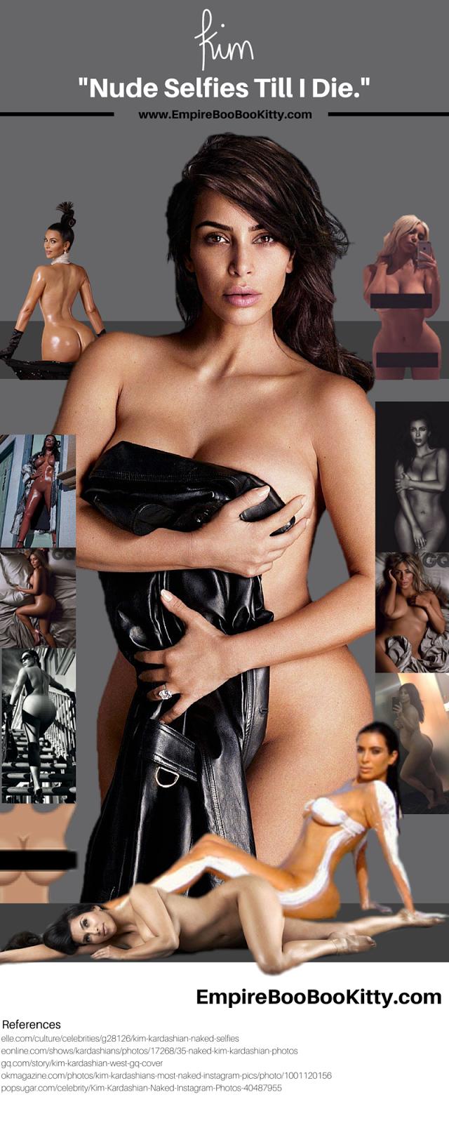 Kim Kardashian GQ Photoshoot Infographic