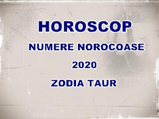 horoscopul castiguri loto taur 2020
