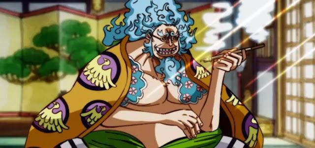 ONE PIECE:Inilah Penyebab Tubuh Kakek Hyogoro Menjadi Besar
