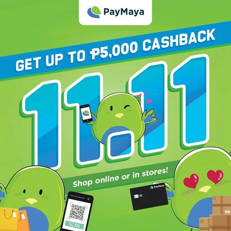 Shopping this 11-11? Use PayMaya to get big deals!