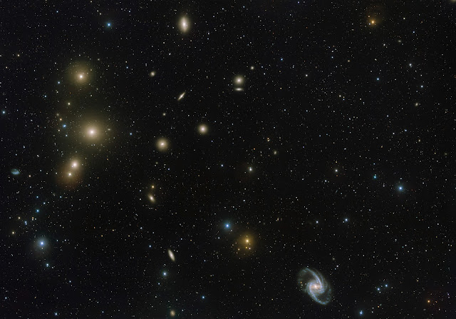 Fornax Galaxy Cluster