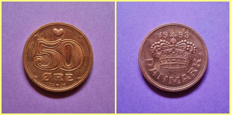 0.50 Coronas Danesas