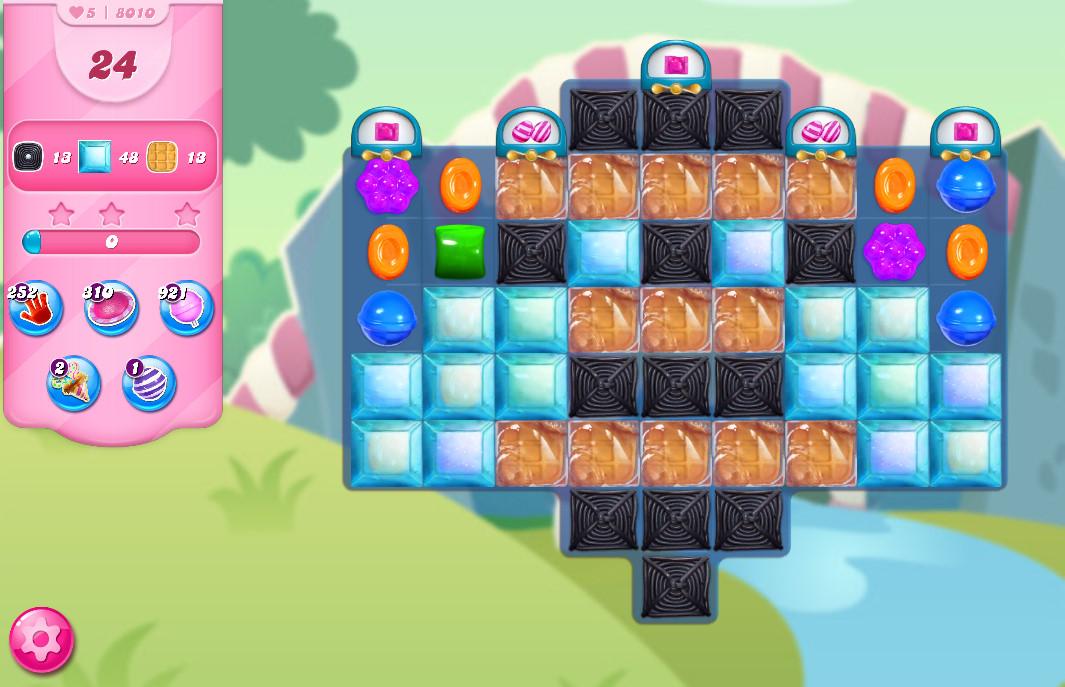 Candy Crush Saga level 8010