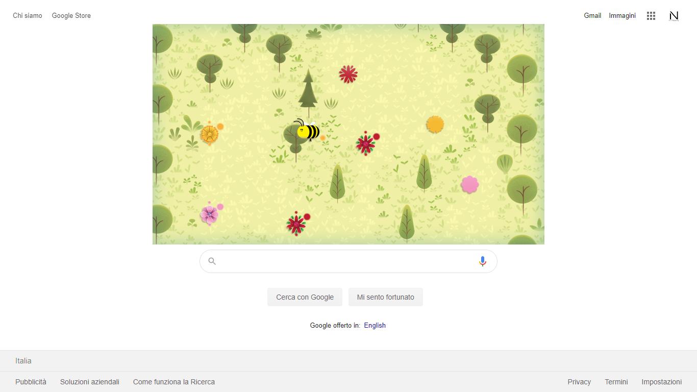 Google celebra la Giornata della Terra 2020 con un gioco nel Doodle odierno