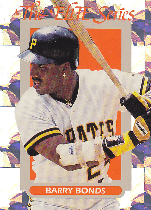 Baseball Cards Rule 1993 Donruss Elite 31 Barry Bonds
