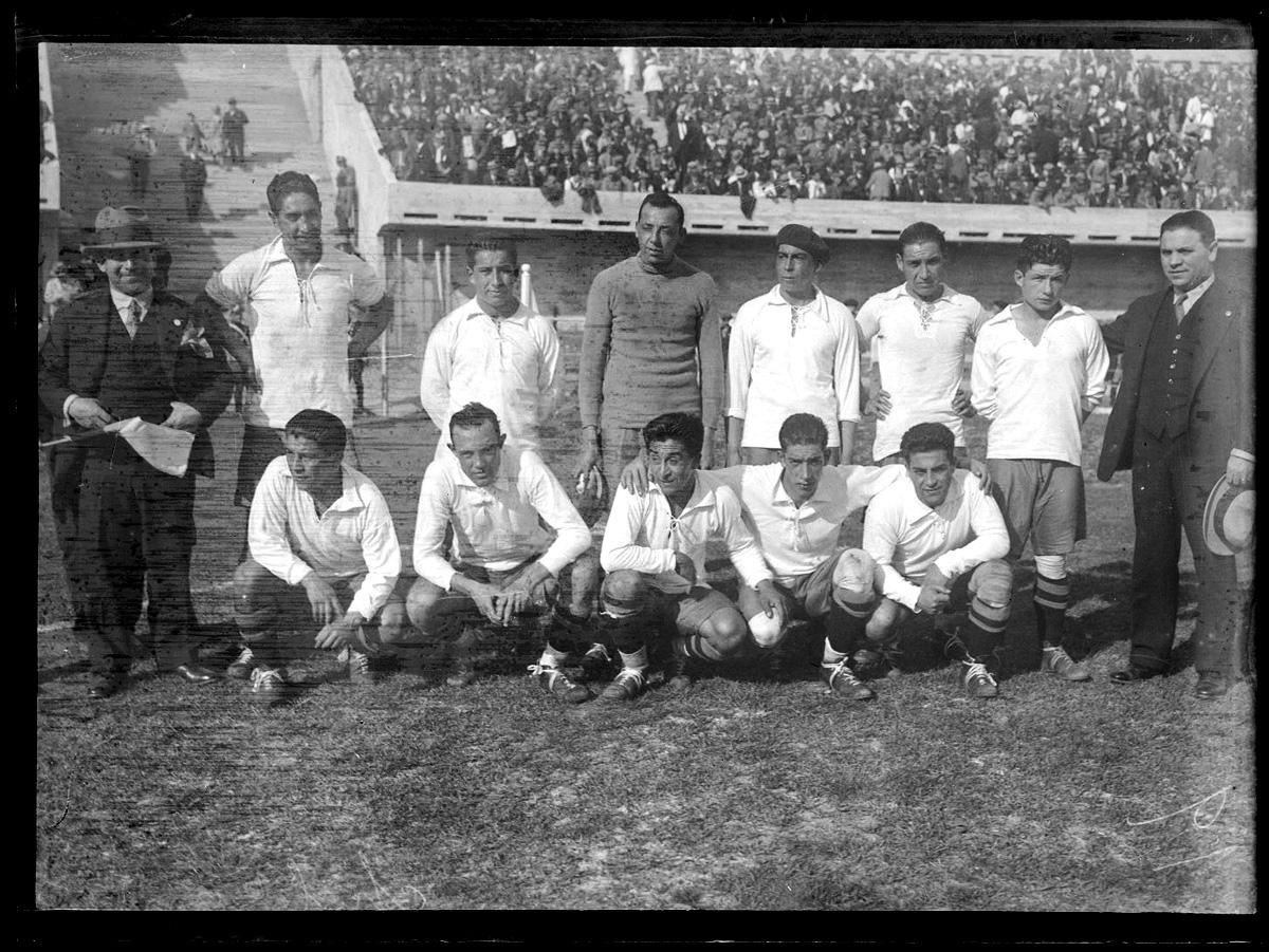 Formación de Chile ante Francia, Copa del Mundo Uruguay 1930, 19 de julio
