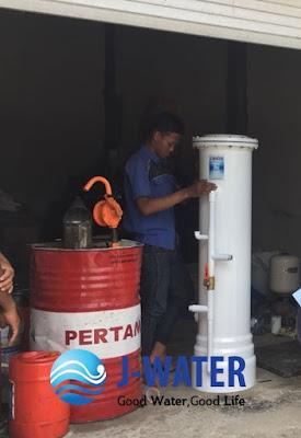 Saringan Air Di Balong Sari Surabaya