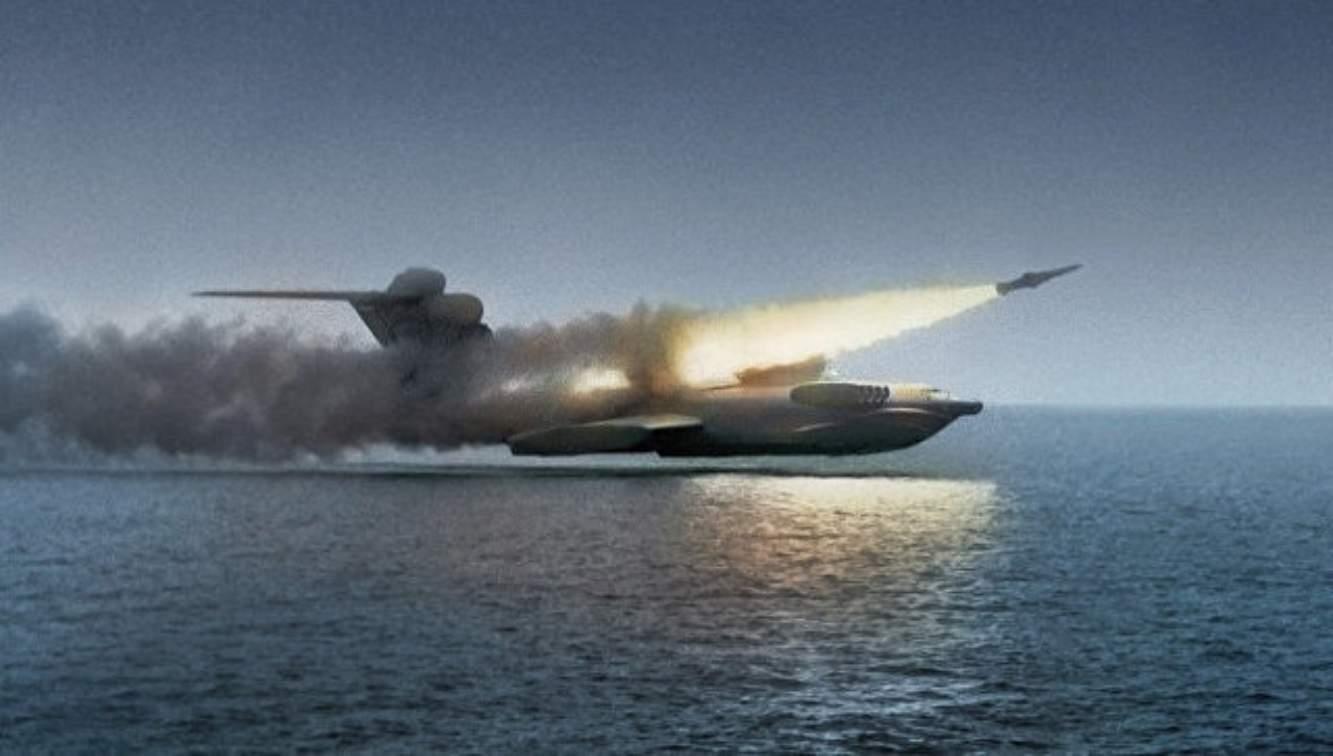 Kapan akan muncul prototipe ekranoplan Rusia?