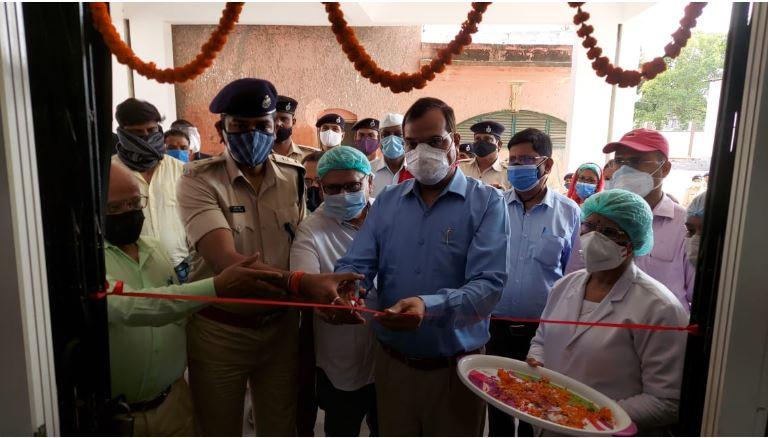मुजफ्फरपुर सदर अस्पताल में ऑक्सीजन प्लांट के माध्यम से ऑक्सीजन का उत्पादन शुरू