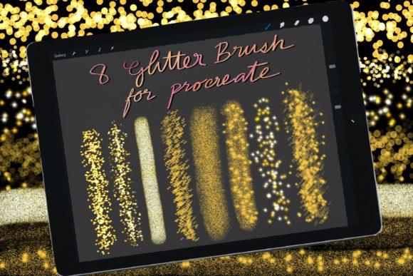 Glitter Brushes for Procreate Ipad[Photoshop][Brush][6091724]