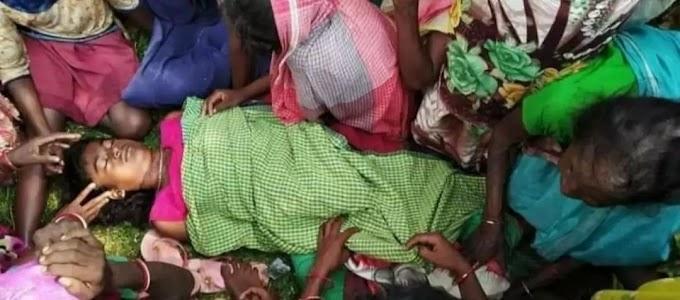 12 साल की नाबालिक लडकी का बलातकार कर के हत्या का  मामला  बलात्कारी फरार..