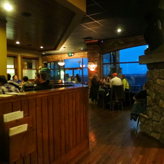 In Twin Falls Has Been Very Successful Outside You Can Dine On The Beautiful Patio Inside Restaurant A Lodge Like Feel With It S Stone And