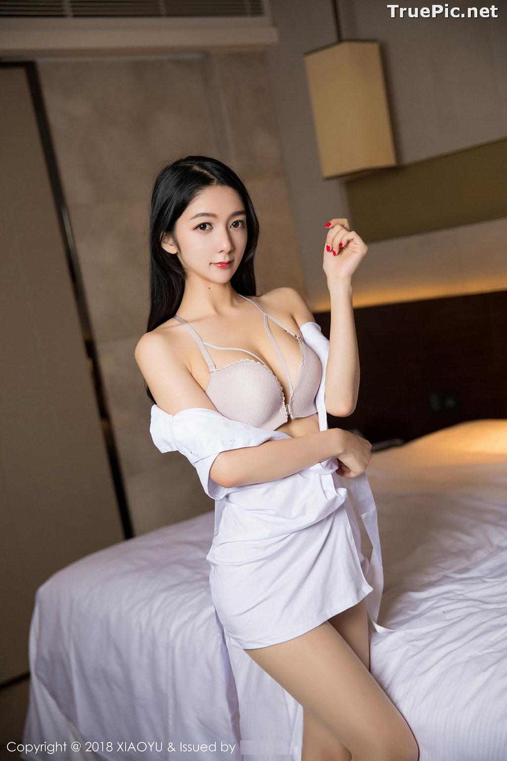 Image XiaoYu No.004 - Chinese Model - Xiao Reba (Angela喜欢猫) - White Sexy Nurse - TruePic.net - Picture-6