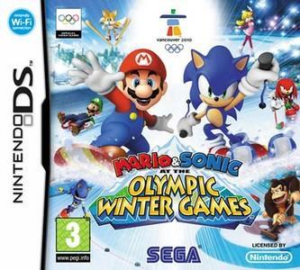 Rom Mario y Sonic en los Juegos Olímpicos de Invierno NDS