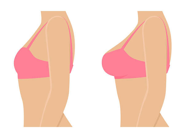 You can grow your breasts in one month