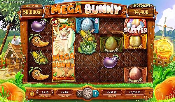 Main Gratis Slot Indonesia - Mega Bunny Hyperways GameArt