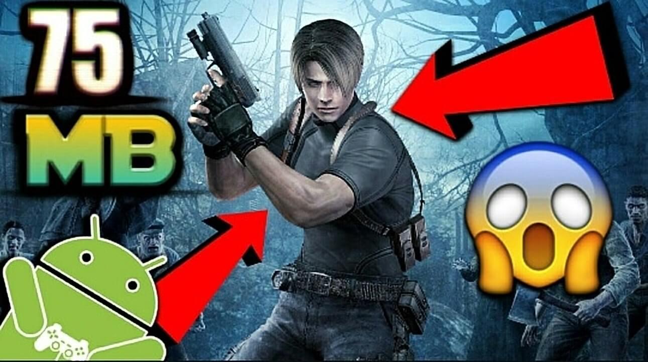 فێركاری چۆنیهتی دابەزاندنی یاری Resident Evil 4  بۆ ئهندرۆید
