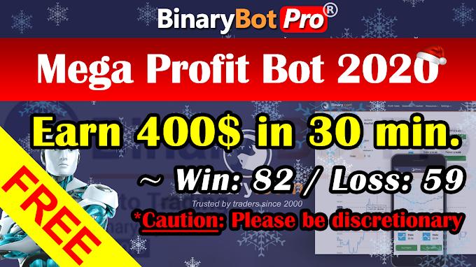 Mega Profit Bot (29-Dec-2020)   Binary Bot   Free Download