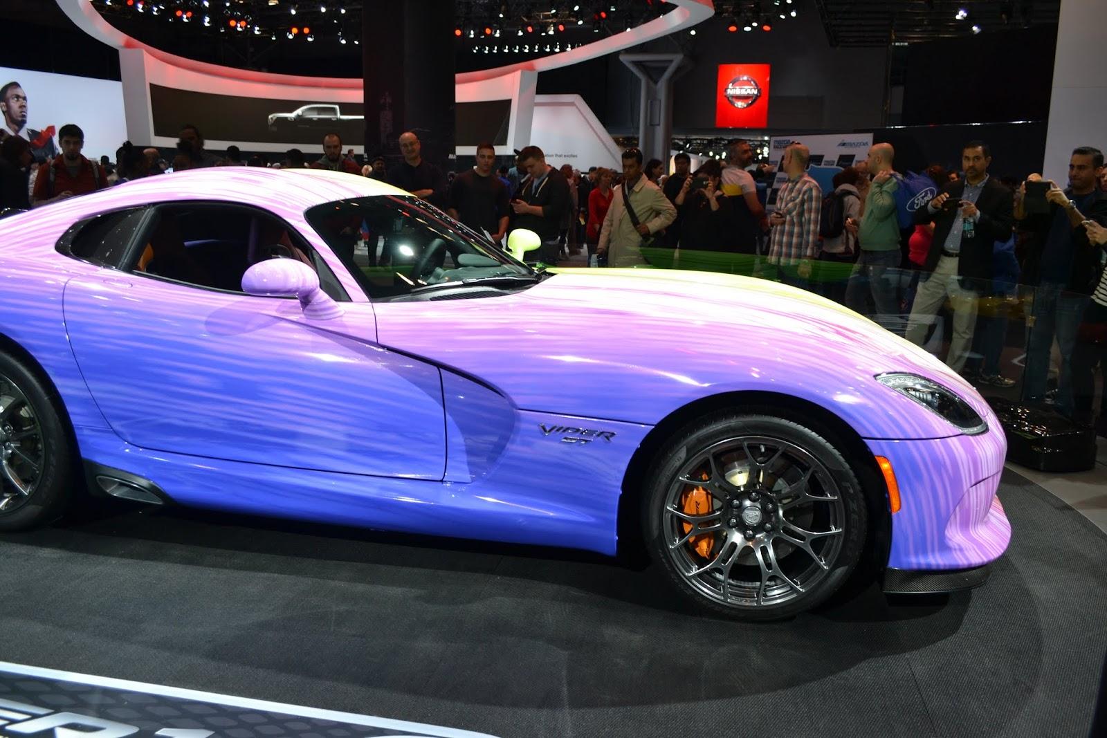 Dodge Viper. Ежегодное автошоу в Нью-Йорке - 2015 (New York International Auto Show - 2015)
