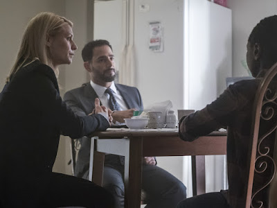 Image of Patrick Sabongui and Claire Danes in Homeland Season 6 (3)