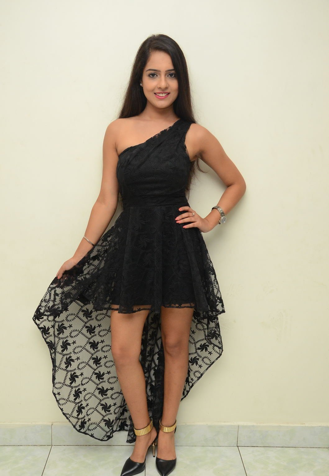MALVI MALHOTRA BLACK FROCK COSTUME DRESS