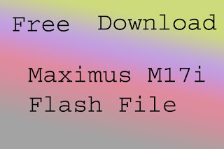 Maximus M17ih firmware File without password