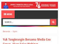 "LIVE MATA MEDIA ONLINE TV - #NgomonginMedia Sesi ke 4 ""Pelatihan Jurnalistik Hukum"""