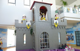 Interior de Playmobil.