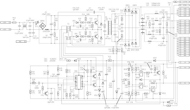circuit Godegen AT200
