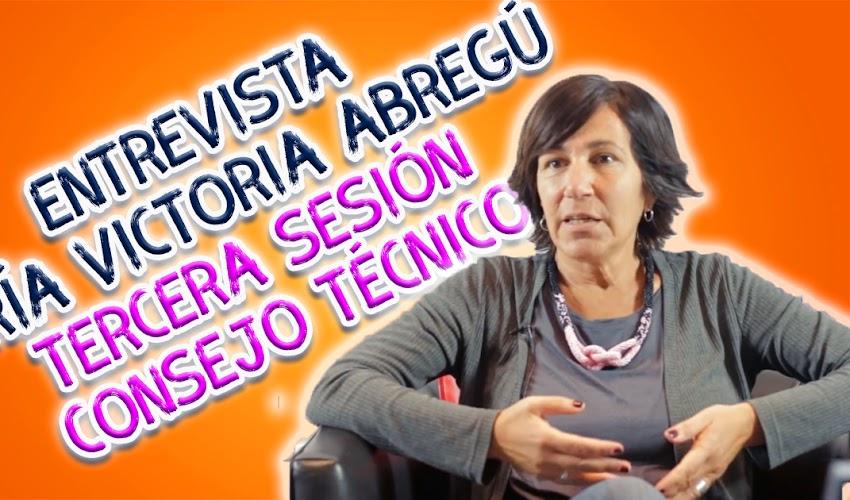 Descarga el vídeo --> Entrevista │María Victoria Abregú │Tercera sesión Consejo Técnico