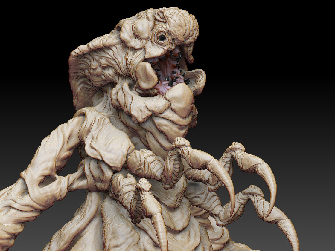 Carlos García Rivera: Artista Digital: Father Dagon WIP