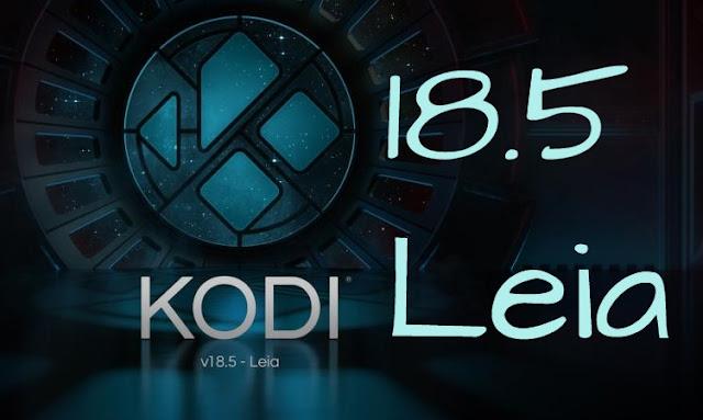 KODI 18.5 para descargar