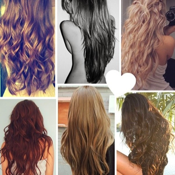 See more 6 cute simple hair styles for long hair (Please excuse the half naked girl on top :/) http://www.womensandmenshairstyle.net/