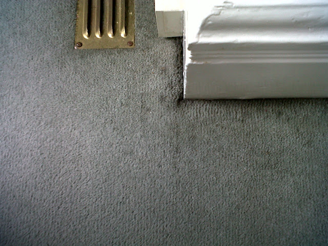 black marks on carpet