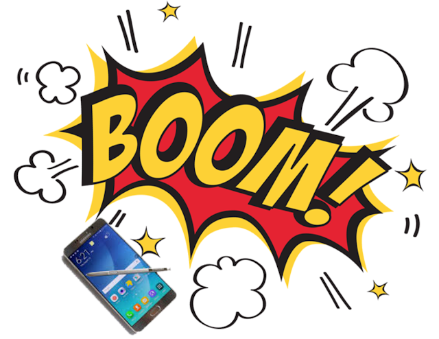 Galaxy Note7 explosion