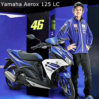 Produk dan Gambar Motor Yamaha Terbaru 2016 - Yamaha Aerox 125 LC