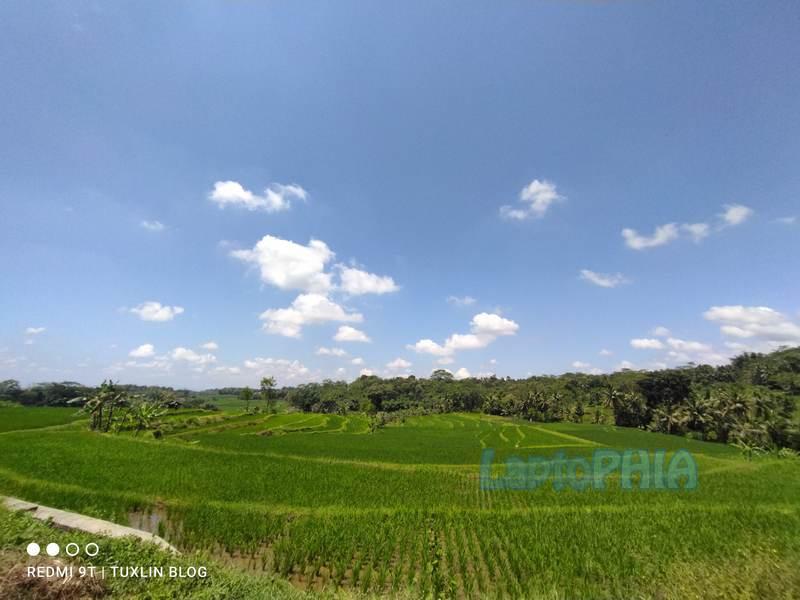 Hasil Foto Kamera Ultra Wide Angle Xiaomi Redmi 9T